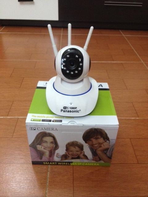 cam ip panasonic 3 rau Camera IP 3 Râu không dây HD