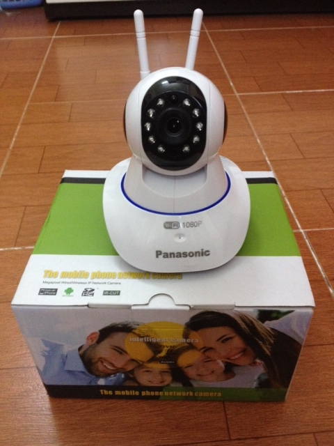 cam ip panasonic Camera IP 2 Râu không dây HD